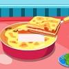 Delicious vegetable lasagne