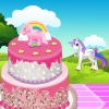 Pony Cake Deccoration
