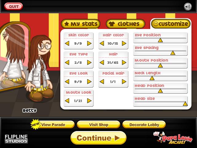 Papa s wingeria espacioarcade com juegos gratis online