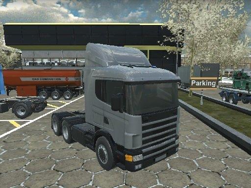 American 18 Wheeler Truck