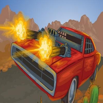 Battle On Road Car