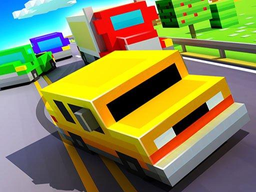 Blocky Highway Traffic Racing