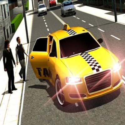 Crazy Taxi Car Simulation