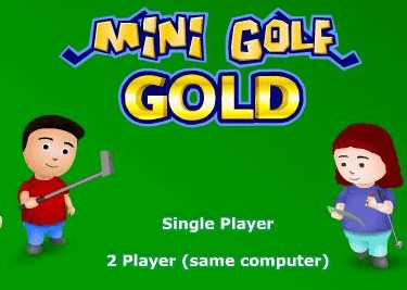 Mini Golf Gold