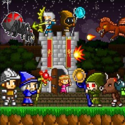 Mini guardians castle defense