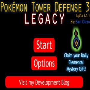 Pokémon Tower Defense 3 Legacy