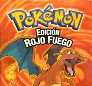 Pokémon Edición Rojo Fuego