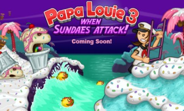 Papa Louie 3 – When Sundaes Attack!
