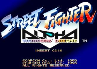 Street Fighter Alpha Warriors Dreams