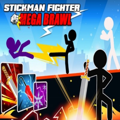Stickman Fighter Mega Brawl