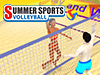 Beach Volleyball: Qlympics Summer Games