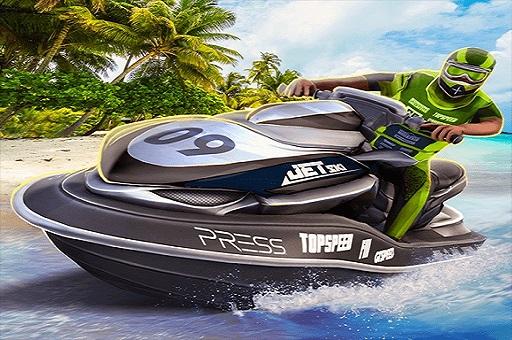 Boat Racing Jetski Driver